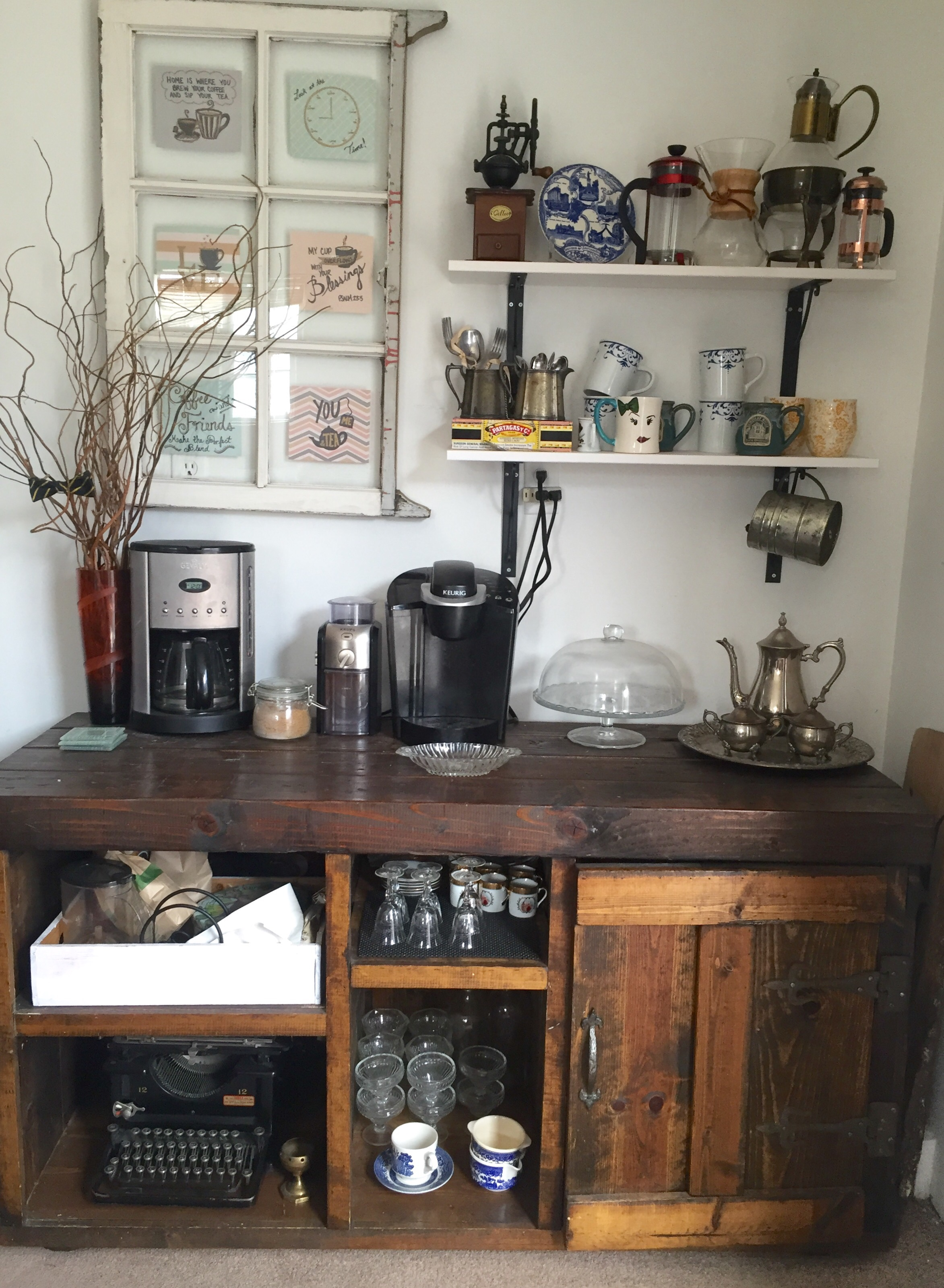 7 Essentials to Creating a Wel ing Coffee Bar